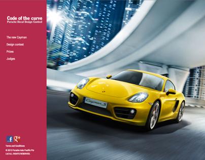 Porsche : Code of the Curve Campaign