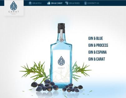 Carat Gin Website
