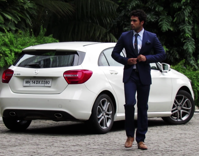 Video Edit for Mercedes & SS Homme Shoot