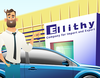 Ellithy Company Motion Graphics video