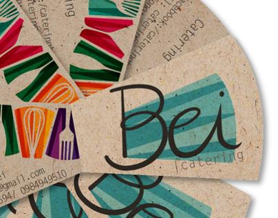 Bei catering logo+branding