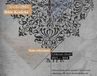 Logotype for religion event