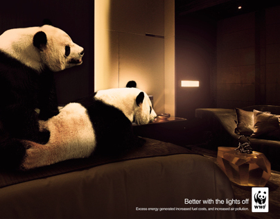 """WWF """"Better with the lights off"""""""