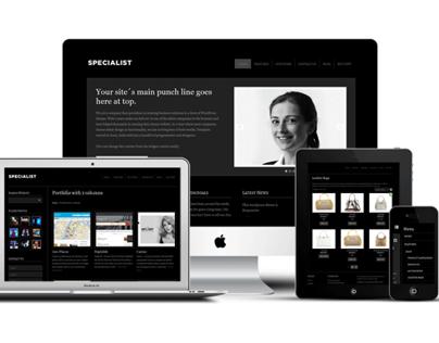 Specialist v2 WordPress Small Businesses Theme