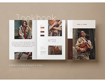 Lookbook / Catalog Template