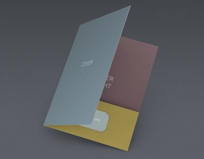 DOA Pocket Folder Mock Up Set