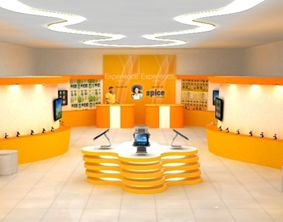 Spice Experience Store Design