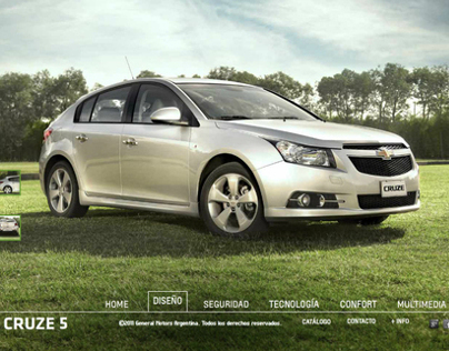 Chevrolet Cruze Hatchback - Design and Development