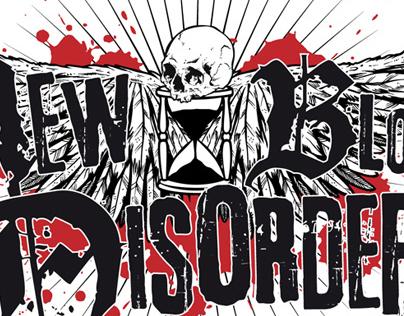 NEW BLOOD DISORDER | logo + CD + t-shirt