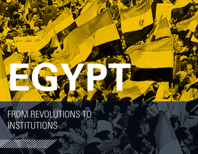 Egypt: From Revolutions to Institutions // Print
