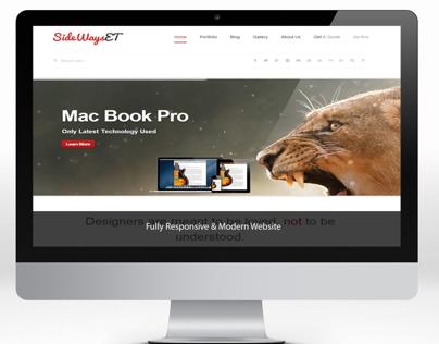 SideWaysET Official Website