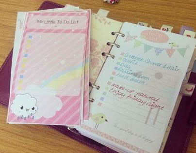 Personal Organiser Pages