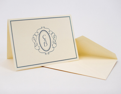 Claire and David - Engagement Stationery