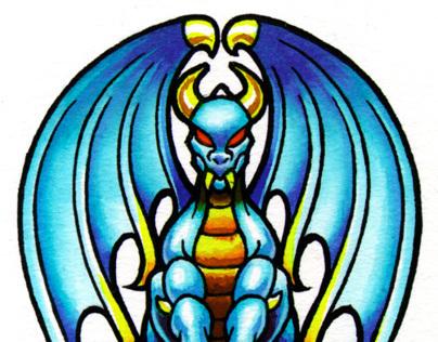 Blue Dragon Tattoo