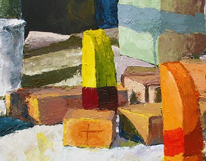 Series of Acrylic Paintings