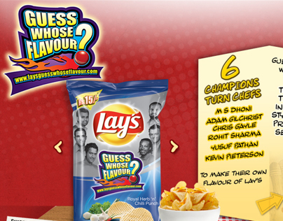 Lays Guess whose Flavour