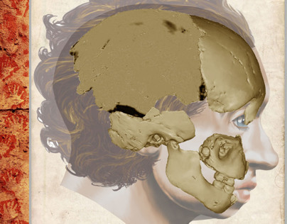 Homo neanderthalensis - Gibraltar 2 (Book Project)
