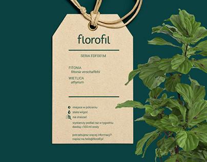 florofil - brand design