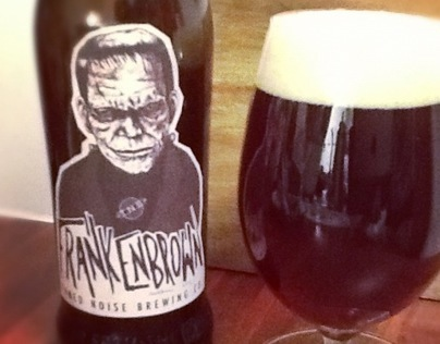 Image result for frankenstein beer label