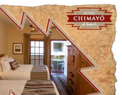 Hotel Chimayo de Santa Fe Postcard
