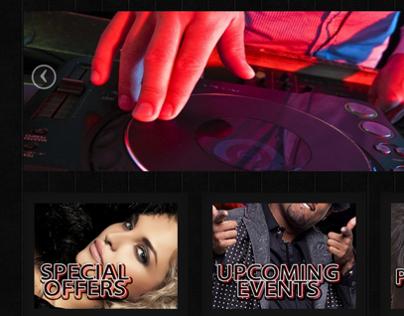 Club 101 - Website Design