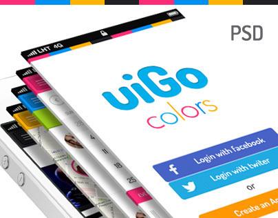 uiGo Colors » iOS Flat UI Bundle