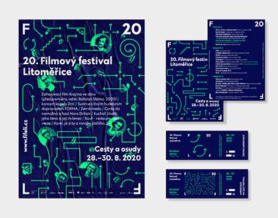 Visual identity of Film Festival Litoměřice