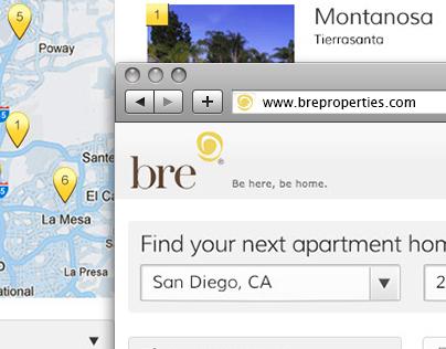 BRE Properties Landing Page