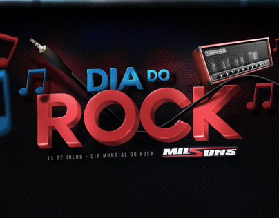 Milsons Dia do Rock / Rock´s Day