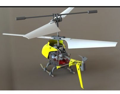Reverse Engineered RC Helicopter