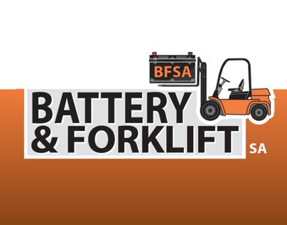 Battery & Forklift Corporate Identity (logo design)