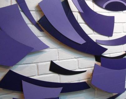 Instalación mural