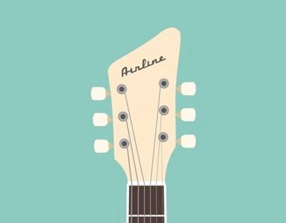 AIRLINE / Jack White's Guitar