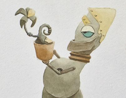 Robots-letters