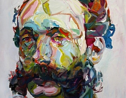 Aaron Smith - Paintings of Bearded Blokes