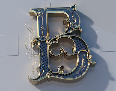 Hand Lettering in 3D