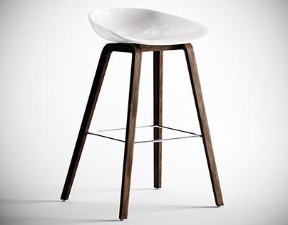 Chair model 002