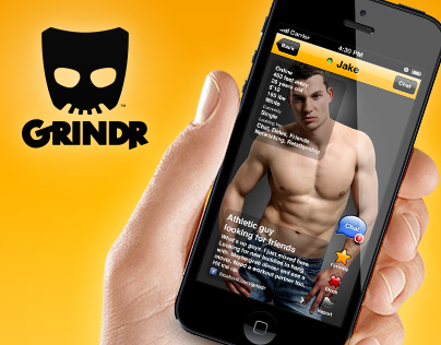 Grindr - The world's largest all-male network