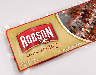 Robson Ribs: Branding and Package Design