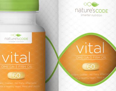 Health & Wellness Supplement Branding & Packaging