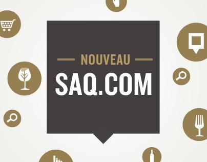 SAQ Website Redesign