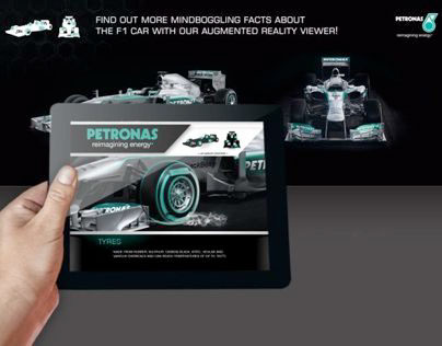 Petronas F1 Augmented Reality Apps