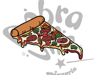 Pizza Illustrations for Dobra Vila