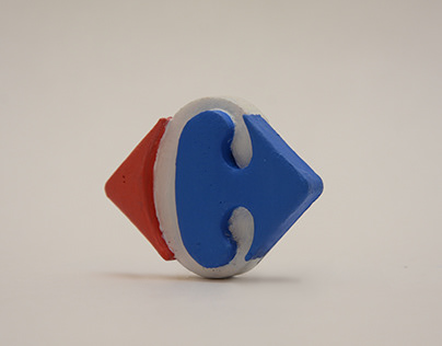 Impresión 3D - Logo Carrefour/ 3D Print