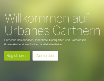 Urban gardenig Plattform Beta
