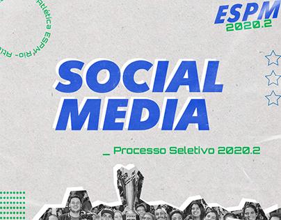 Social Media Processo Seletivo 2020.2