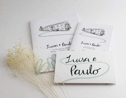 Luísa & Paulo: Wedding Stationery
