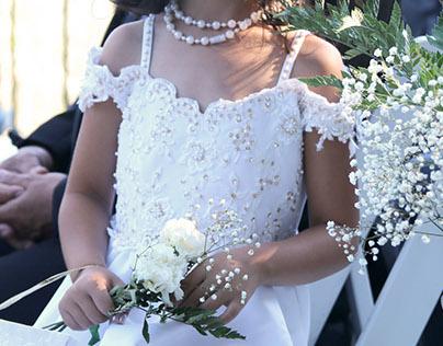 Wedding Floral Arrangements: JC and Karen