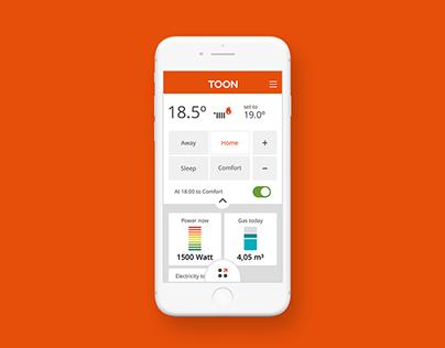 Toon hybrid app @Quby