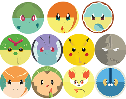 Pokemon Vectors